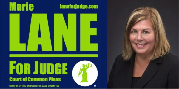 Image of Marie Lane for Judge Yard Sign