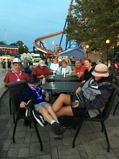 Image of Marie at Cedar Point