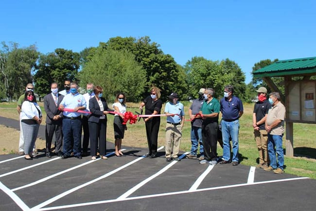 Image of Red Brook Metropark Ribbon Cutting